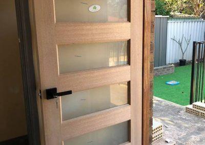 timber door installation perth